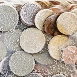 eingefrorenes Geld