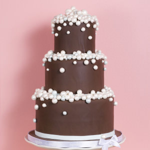 Schokoladen Hochzeitstorte